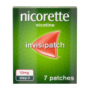Nicorette InvisiPatch Step 3 10 mg 7 Nicotine Patches