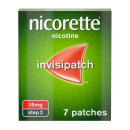 Nicorette InvisiPatch Step 2 15 mg 7 Nicotine Patches