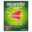 Nicorette Invisi 25mg Patch + Nicorette Nasal Spray