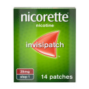 Nicorette InvisiPatch Step 1 25 mg 14 Nicotine Patches