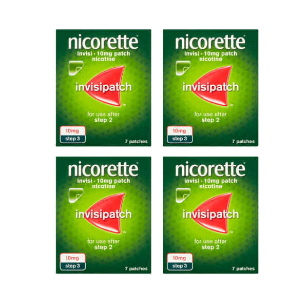 Nicorette Invisi Nicotine Patch 15mg 28 Patches