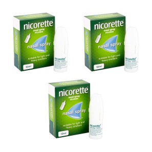 Nicorette Nasal Spray Triple Pack