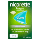 Nicorette Original Gum 2mg 1050 Pieces