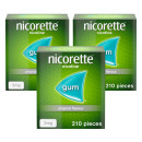 Nicorette Original Gum 2mg 630 Pieces
