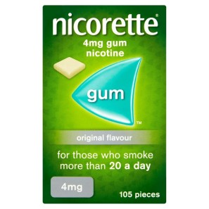 Nicorette Original Gum 4mg 105 Pieces