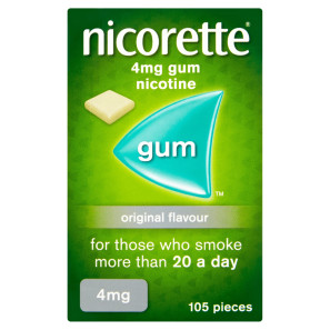 Nicorette Original Gum 4mg 1050 Pieces