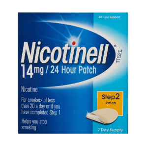 Nicotinell 14mg/24 Hour Patches Step 2