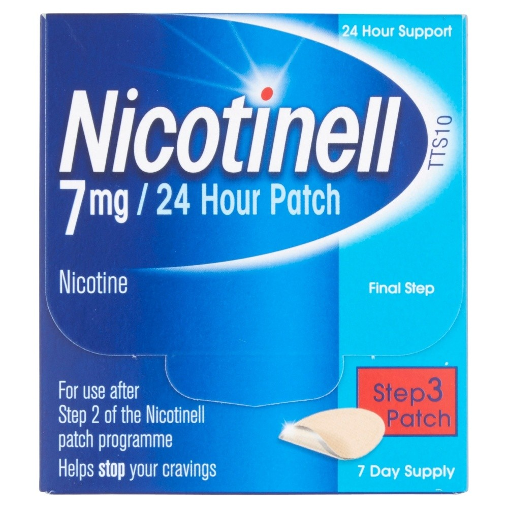 Nicotinell 7mg/24 Hour Patches Step 3