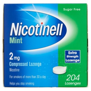 Nicotinell 2mg 204 Extra Strength Lozenges - Mint