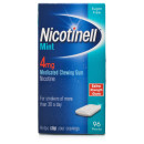 Nicotinell Mint Medicated Gum 4mg
