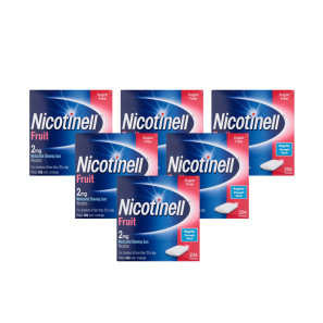 Nicotinell 2mg Gum - Fruit 1224 Pieces