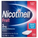 Nicotinell 2mg Gum - Fruit