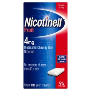 Nicotinell 4mg Extra Strength Gum - Fruit
