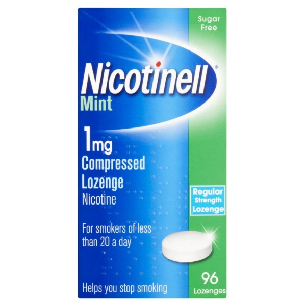 Nicotinell 1mg Compressed Lozenge - Mint (960 Lozenges)