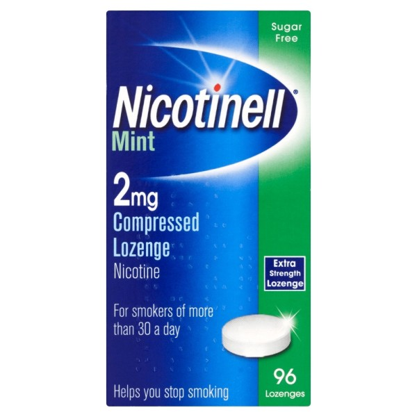Nicotinell 2mg Extra Strength Lozenge - Mint (960 Lozenges)