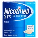 Nicotinell 21mg / 24 Hour Step 1 Patch
