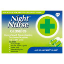 Night Nurse Night Time Cold and Flu Relief Capsules 10s