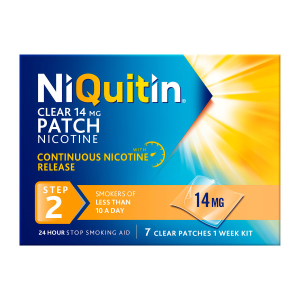 Niquitin Patch Step 2 - 14mg Patches
