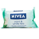 Nivea Care Soap Mint & White Tea