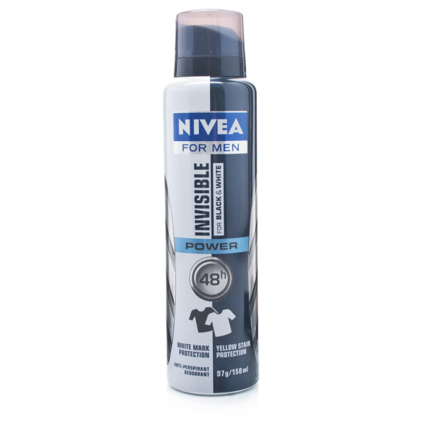 Nivea for Men Invisible Black & White Deodorant Spray