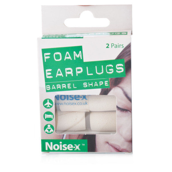 Noise X Foam Barrel Earplugs