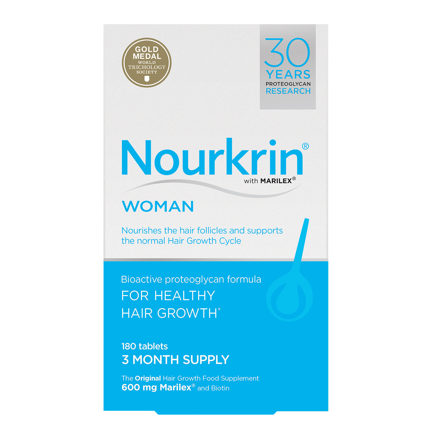 Nourkrin Woman 3 Month Supply