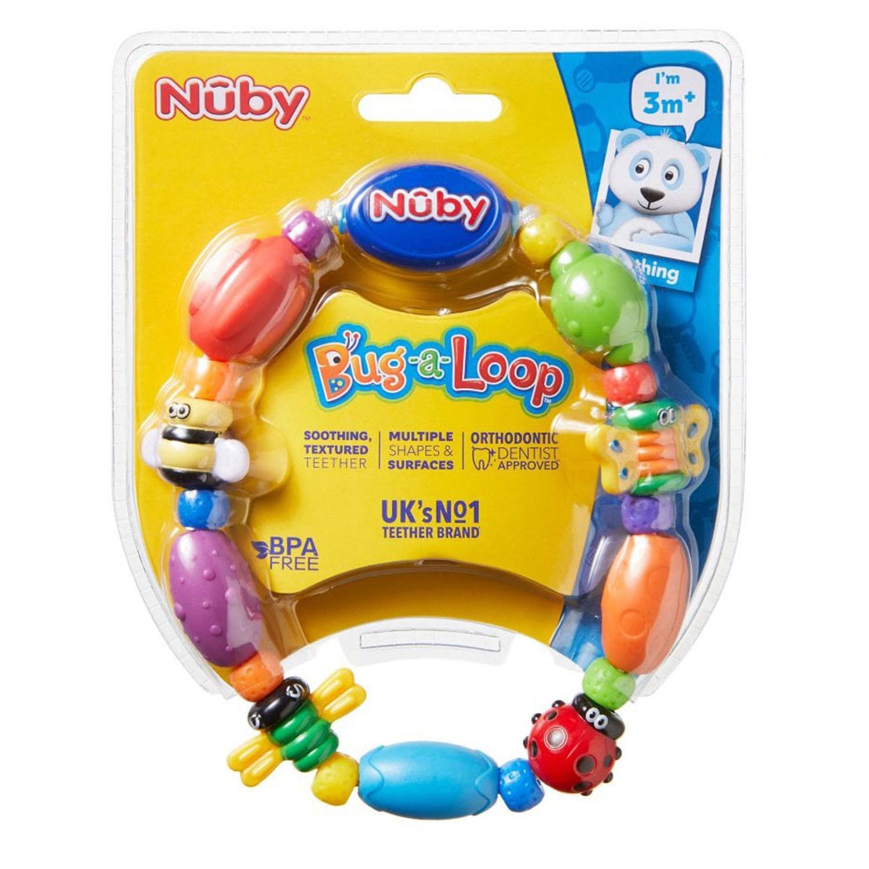 Nuby Bug-A-Loop Teether