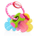 Nuby Icy Bites Key Teether Pink