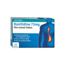 Numark Ranitidine 75mg Film-Coated Tablets