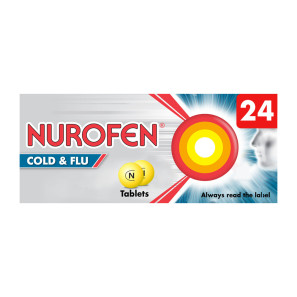 Nurofen Cold & Flu Tablets Non Drowsy