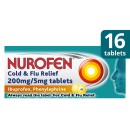 Nurofen Day & Night Cold & Flu 200mg Tablets