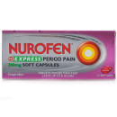 Nurofen Express Ibuprofen 200mg Caps for Period Pain