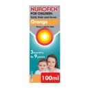 Nurofen For Children Cold Pain and Fever Relief Orange Flavour