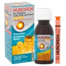 Nurofen For Children Cold Pain and Fever Relief Orange