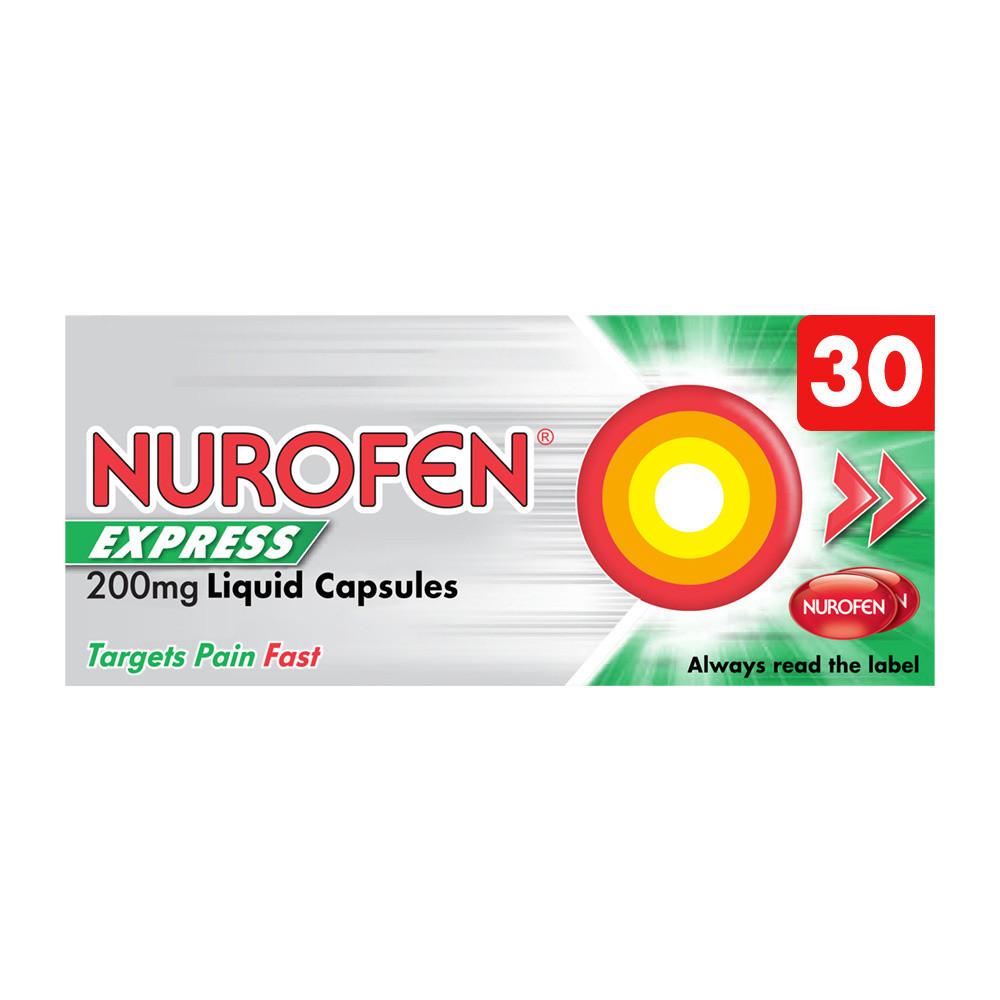Nurofen Ibuprofen 200mg Liquid Caps