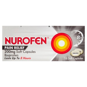 Nurofen Pain Relief 200mg Soft Capsules