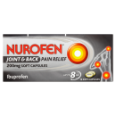 Nurofen Joint & Back 200mg Soft Capsules 16s