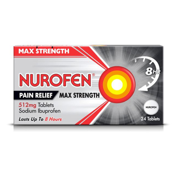 Nurofen Joint & Back 512mg Tablets 24s