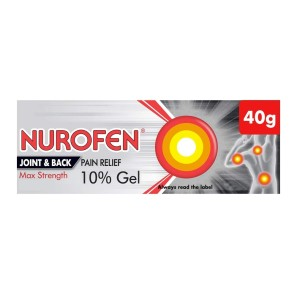 Nurofen Joint & Back Pain Relief Max Strength 10% Gel