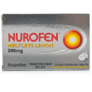 Nurofen Ibuprofen 200mg Meltlets Lemon