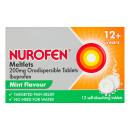 Nurofen Meltlets Mint Orodispersible 200mg Tablets