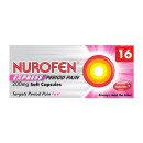 Nurofen Express Period Pain 200mg Soft Capsules