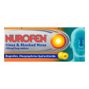 Nurofen Sinus 200mg/5mg Pain & Blocked Nose
