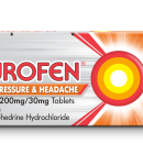 Nurofen Sinus Pressure & Headache Relief 200mg/30mg Tablets