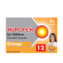 Nurofen for Children Chewable Capsules Orange 7 - 12 Years