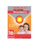 Nurofen for Children Strawberry Singles