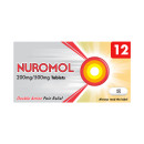 Nuromol 200/500mg Tablets 12s