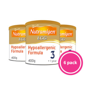 Nutramigen 3 With LGG Hypoallergenic Formula 1+ Years - 6 Pack