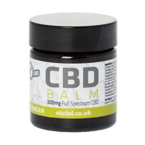 OK CBD Lemon and Ginger Balm 300mg