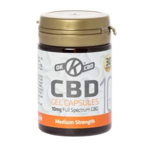 OK CBD Soft Gel Capsules 10mg